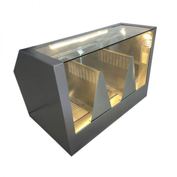 """38""""-Counter-Popcorn-Warmer-and-Staging-Cabinet"""